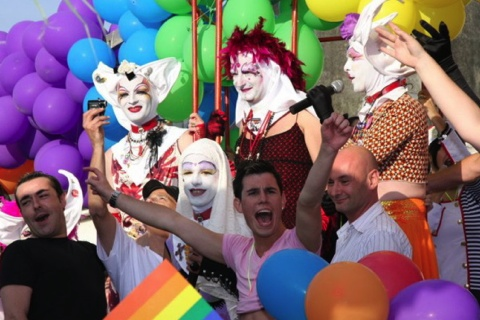que la première gay pride de Gourin