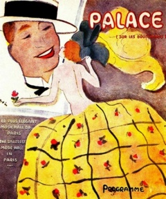 Affiche Maurice Chevalier au Palace